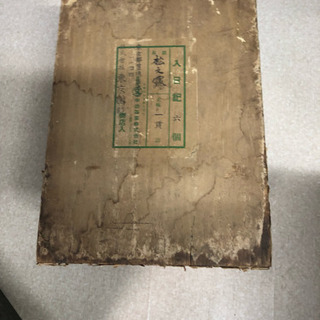 昔のお茶入れ箱  レトロ