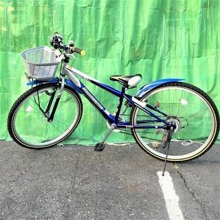 【恵那・ひまつぶし堂】ブリヂストン 子供用自転車(26型)クロス...