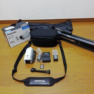 商談中最終値下げ! Panasonic ビデオカメラ+アク…