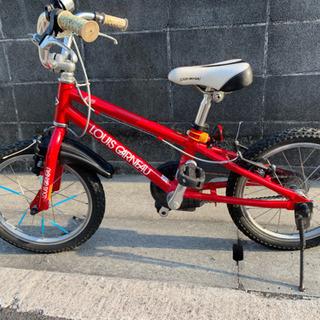 16インチ ルイガノ自転車 赤