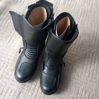 ライデング ブーツ 黒 未使用 ドイツ製 BOGOTTO 防寒 ...