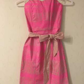 H&M ベアワンピース ピンク 可愛い!!
