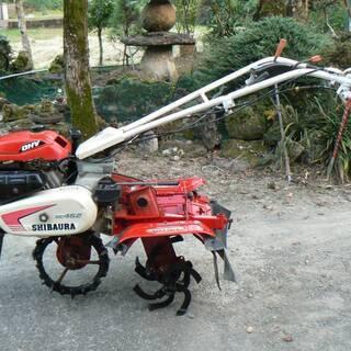 『決定しました』中耕・培土作、土上げ業用 一輪管理機 ◆シバウラ...