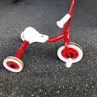 デザインが可愛い三輪車