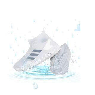 シューズカバー 【2019最新版 吸盤付き】 防水 雨 雪 泥...