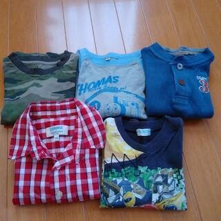 100サイズ 長袖Tシャツ5枚セット