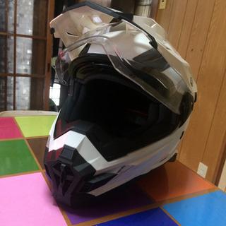 ほぼ未使用 THH ダブルシールドオフロードヘルメット