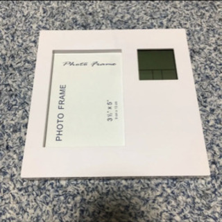 ADESSO/フォトフレームクロック/温度計/カレンダー