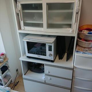 日本製 食器棚 カップボード 注意!食器棚のみです