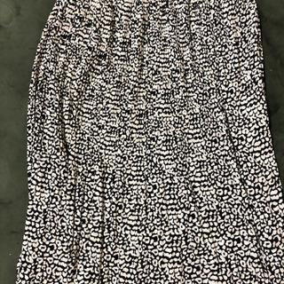 4Lレオパード柄スカート