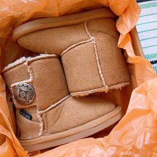 新品羊革ブーツ 13㎝