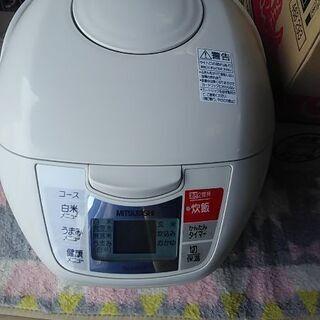 三菱電機1.8リットル炊きマイコンジャー炊飯器新品未使用