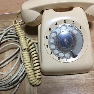レトロな電話機☎️