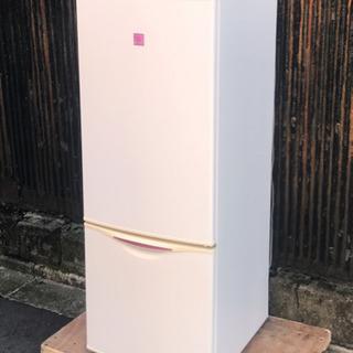 ナショナル 2ドア冷蔵庫 NR-B163V7-JR