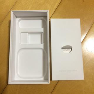 アイフォン5Sの箱とステッカー、SIMピン、説明書等 - 東置賜郡