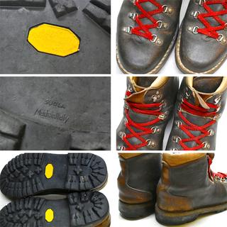 1点物◆イタリア製ビンテージ70sクライミングブーツ古着メンズ2...