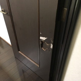 フローリングやドア穴修理補修