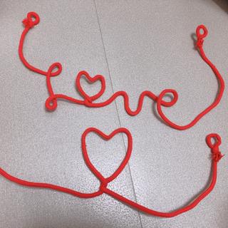 結婚式 赤い糸