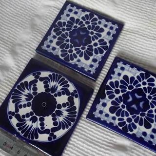 手書きタイル メキシコ 2種3枚