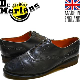 1点物◆英国製ドクターマーチン革靴レザーシューズ古着メンズ10レ...