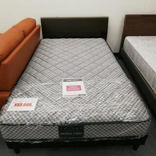 689 マナベインテリアハーツ ベッド セミダブル