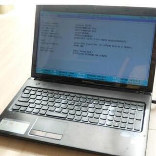 値下げしました。Lenovo G570 Corei5 メモリ1G...
