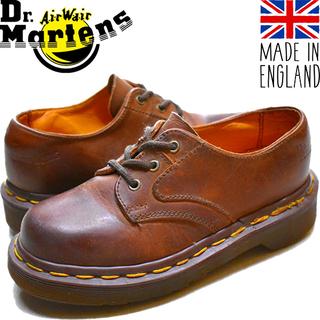 1点物◆英国製ドクターマーチン革靴3Hレザーブーツ古着キッズ11...