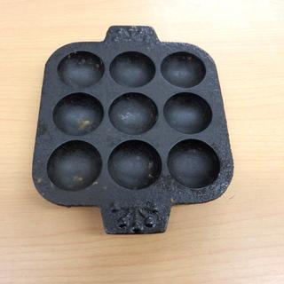 ▶南部鉄器 たこ焼き器 コンパクト 調理器具 料理 キッチン用品...