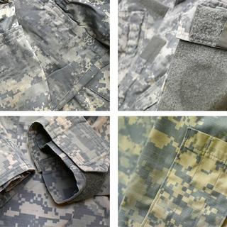 1点物◆実物アメリカ軍ACUデジカモ迷彩柄ミリタリージャケット古...
