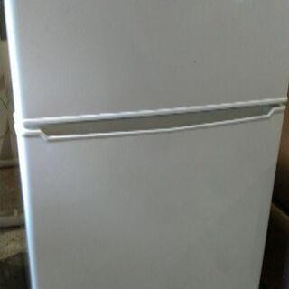 2017年製 小さめ2ドア冷蔵庫