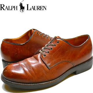 1点物◆ラルフローレンPOLO革靴レザーシューズUSA古着メンズ...
