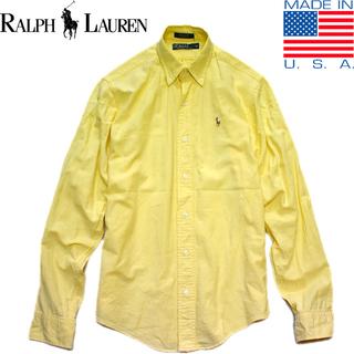 1点物◆USA製ラルフローレンPOLO長袖シャツ古着ボーイズ18...