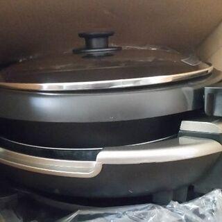 タイガーグリル鍋 美品 土鍋