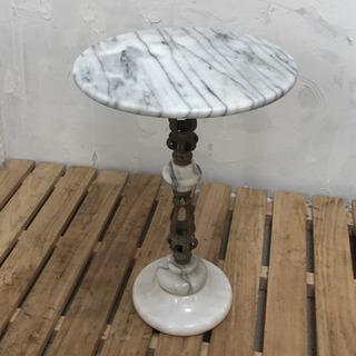 大理石 サイドテーブル #花台