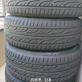 アイシス トヨタ純正アルミ&タイヤ 4本
