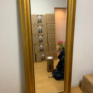 IKEA 特大鏡 ミラー オシャレ