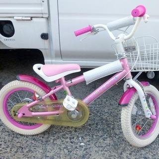 幼児用自転車 CBあさひ デューリーガール 14インチ 中古