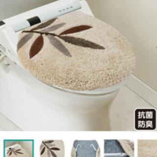 新品!トイレのフタカバー