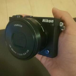 Nikon1J5ブラック  ミラーレス一眼レフ
