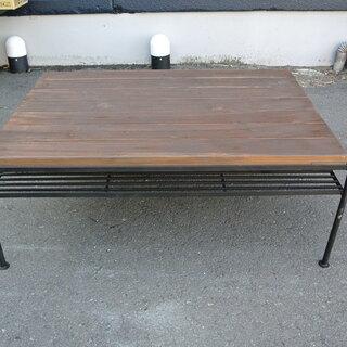 【101605】テーブル 幅90cm 奥行66cm 高さ35.5...