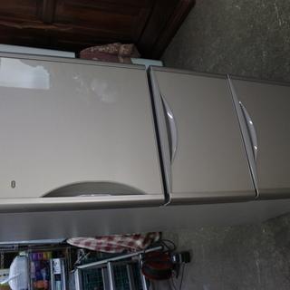日立 15年式 R-S2700FV 265L 3ドア 冷蔵庫 真...