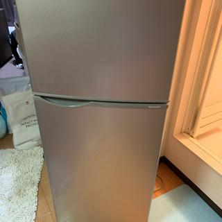 【シャープ14年製】2ドア冷蔵庫 118L SJ-H12Y-S