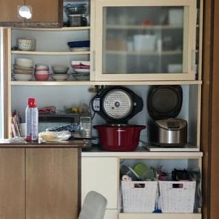 大容量 食器棚 キッチンボード