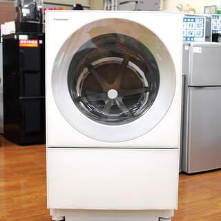 【1年保証付】パナソニックのななめドラム洗濯機(NA-VG710L)