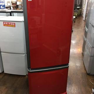 三菱 2ドア冷蔵庫 MR-D30S-R 2011年製