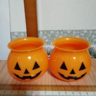 ハロウィン かぼちゃ プリンカップ 2個
