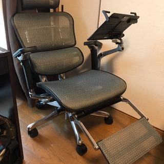 くつろぎやすい 高級椅子 フルオプション Ergohuman P...