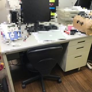 オフィスデスク&椅子4つセット