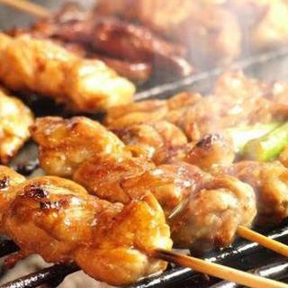 鶏肉専門店の焼鳥唐揚げその他鳥料理全般