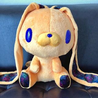 【新品】チャックスGP 汎用うさぎぬいぐるみ スカルボウオレンジ